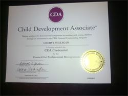 Hourly Rate for Certification: Child Development Associate (CDA)